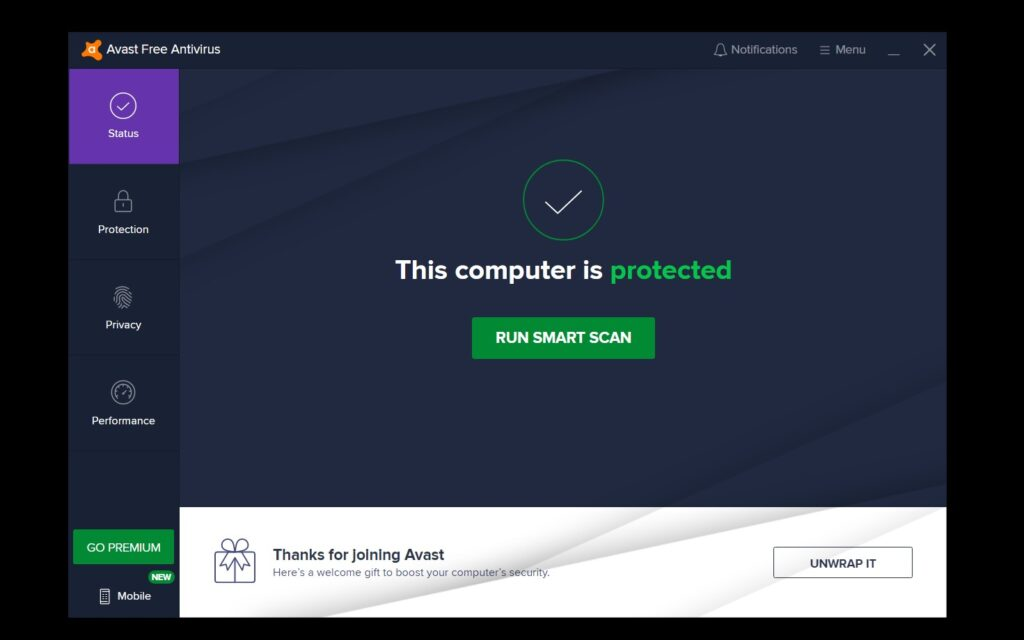 how to disable avast - step 5
